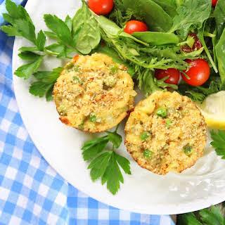 Healthy Tuna Casserole Muffins.