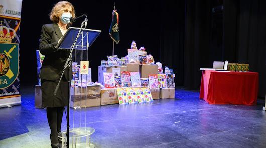 La Hermandad de Guardias Civiles Auxiliares reúne más de 10.000 juguetes