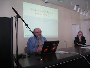 Photo: Henn Sarv pidas huvitava ja väga emotsionaalse loengu Genist ja oma avastustest genealoogias
