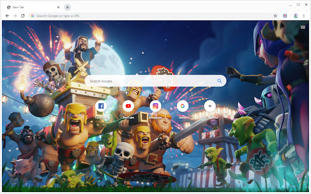 New Tab - Clash of Clans