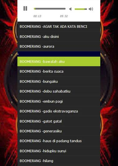 Boomerang Mp Screenshot