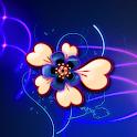 Neon Hearts Wallpaper Lite icon