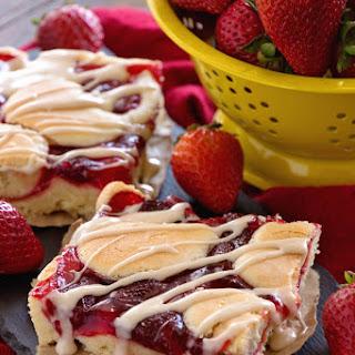 Strawberry Pie Bars.