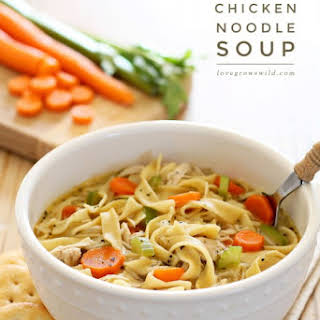 Quick and Easy Chicken Noodle Soup.