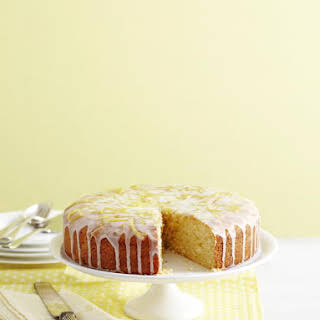 Lemon Iced Citrus Cake.