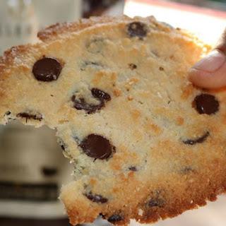 Almond Flour Keto Chocolate Chip Cookies.