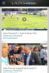 LazioPress.it- miniatura screenshot