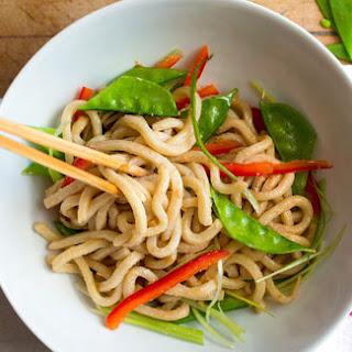 Cold Sesame Noodles With Crunchy Vegetables