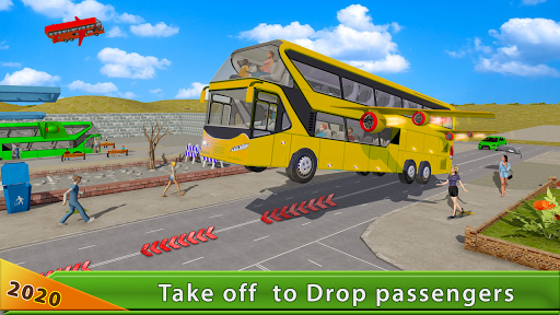 Flying Bus Driving simulator 2019: Free Bus Games 2.6 de.gamequotes.net 3