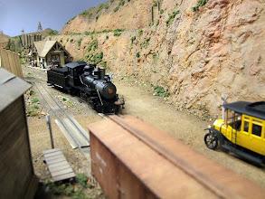 Photo: 023 Texas, Santa Fe and Northern Railroad, a large 0n30 layout by David Angell.