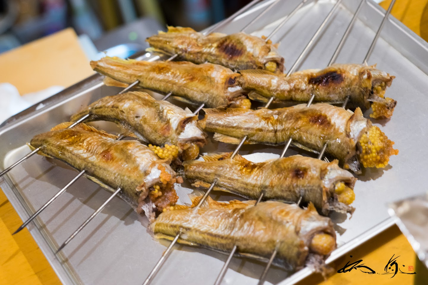 じっくりゆっくり焼き上げる焼き魚
