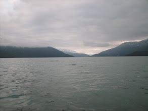 Photo: Looking north up Taku Inlet.