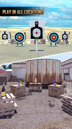 Shooting Master - free shooting games apkslow screenshots 1