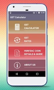 GST Calculator, HSN / SAC Code Details & GST Guide - náhled