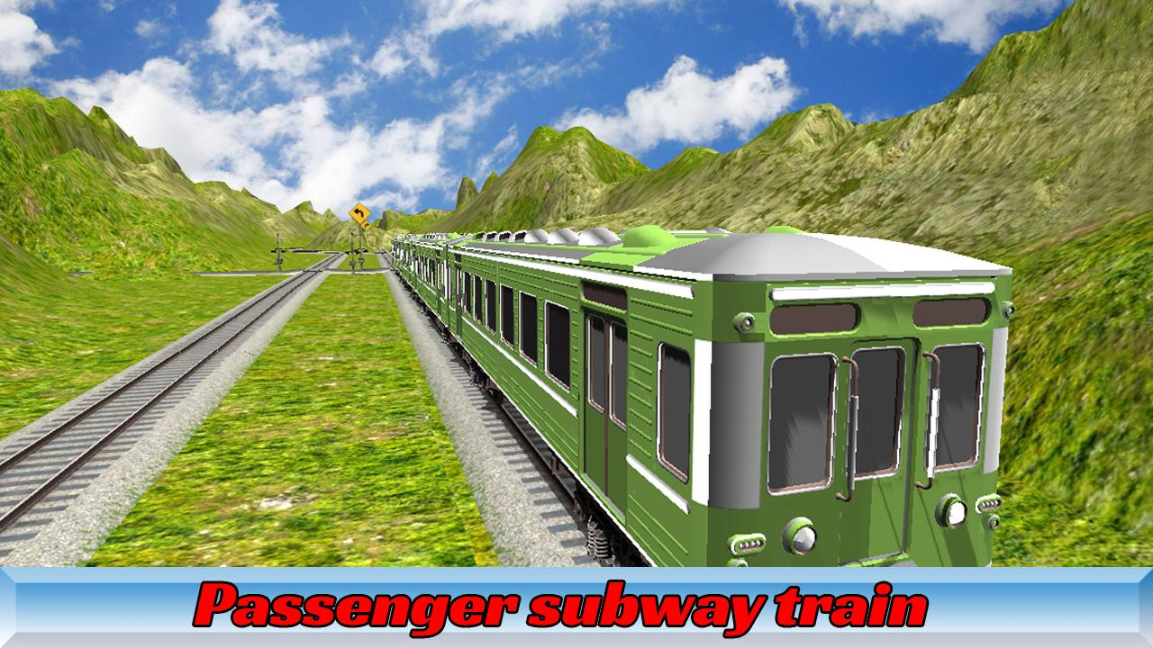 Super Metro Train Simulator 3D- screenshot