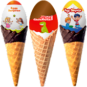 Ice Cream Surprise Eggs