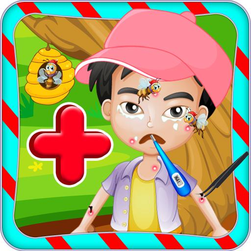 Bee Allergy Doctor Care 休閒 LOGO-玩APPs