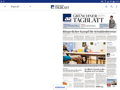 az Grenchner Tagblatt E-Paper screenshot 6