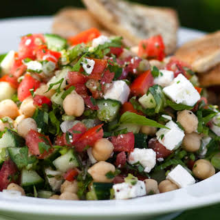 Middle Eastern Vegetable Salad.