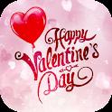valentine dia live wallpaper icon