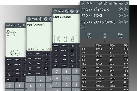 HiEdu Scientific Calculator : He-570 MOD APK (Ad-Free/Proper) 4