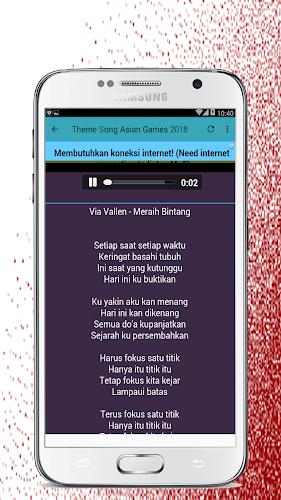 download lagu asian games