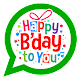 Download BirthDay WhatsApp Stickers For PC Windows and Mac