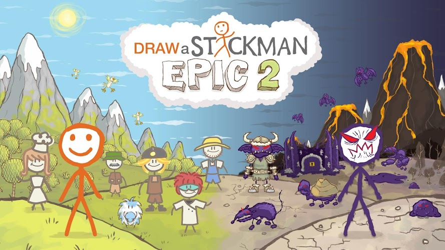 Draw a Stickman: EPIC 2 v1.0.1.354 APK - screenshot