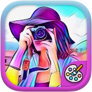 Art Cam Art Editor - cartoon camera,cartoon sketch