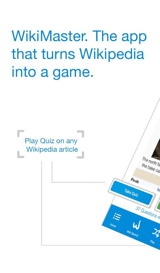 WikiMaster- Quiz to Wikipedia- screenshot
