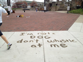 Photo: 3.18.12 mud messages in Baltimore, MD, USA