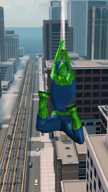 Super Amazing Green Spider Rope Hero Miami Gang