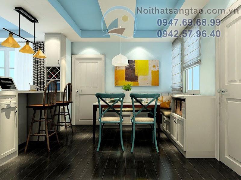 thiết kế nội thất phòng khách giá rẻ