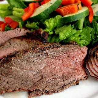 Tequila Lime Grilled Flank Steak