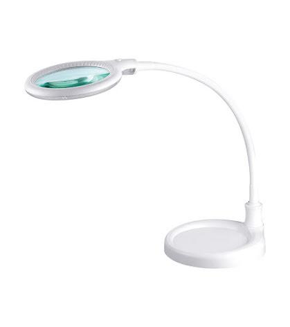 Lupplampa att fästa i bordet + fot