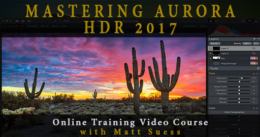 Mastering Aurora HDR 2017 Online Course