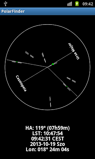 Screenshot for Polar Finder in United States Play Store
