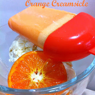Homemade Creamsicle Jello Popsicles