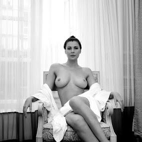 Queen of my Trone by ObjeKtiva Artphoto - Nudes & Boudoir Artistic Nude ( nude, queen, boudoir, nudeart, seminude, beauty, goddess, sensual, glamour, boudoir photography, sexy, trone, breasts, artnude, feminine )