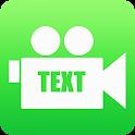 Camera Text Watermark Free icon