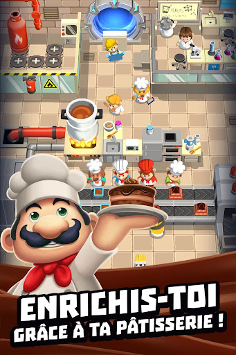 Code Triche Idle Cooking Tycoon - Tap Chef APK MOD screenshots 2