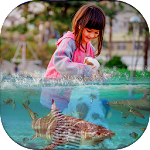 3D Water Effect Photo Editor icon