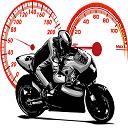Crazy Bikers Jigsaw Icon