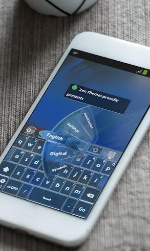 玩免費個人化APP|下載藍玫瑰 GO Keyboard app不用錢|硬是要APP