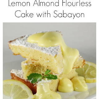 Gluten Free Lemon Almond Flourless Cake