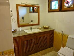 Photo: #020-Monywa, le Win Unity Resort. La chambre.