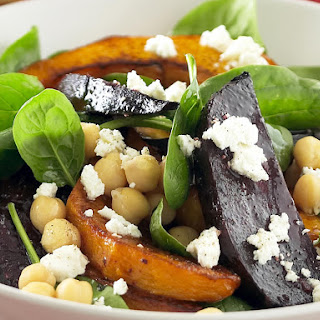 Chickpea, Beet and Pumpkin Salad