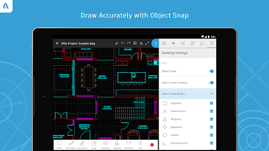 Autocad dwg viewer editor android apps on google play malvernweather Images