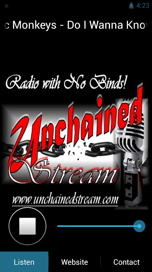 Unchainedstream- screenshot