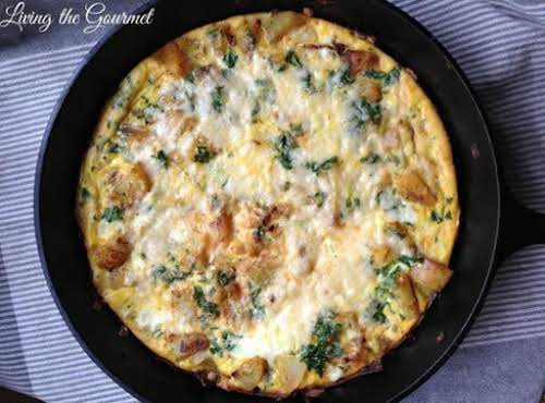 "Egg & Potato Frittata ""A delicious and quick morning delight!"" - LadyGourmet"